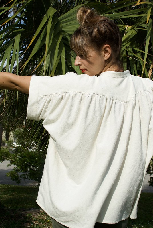 Mood Fabrics Petula Blouse