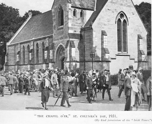 St. Columba's Day 1931, after the Chapel Service.