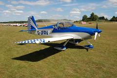 G-JFRV Vans RV-7A [PFA 323-13851] Popham 110710