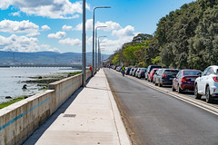 A WALK ALONG CLONTARF ROAD [IN ORDER TO EXAMINE THE NEW CYCLE PATH AND SEA WALL]-139389