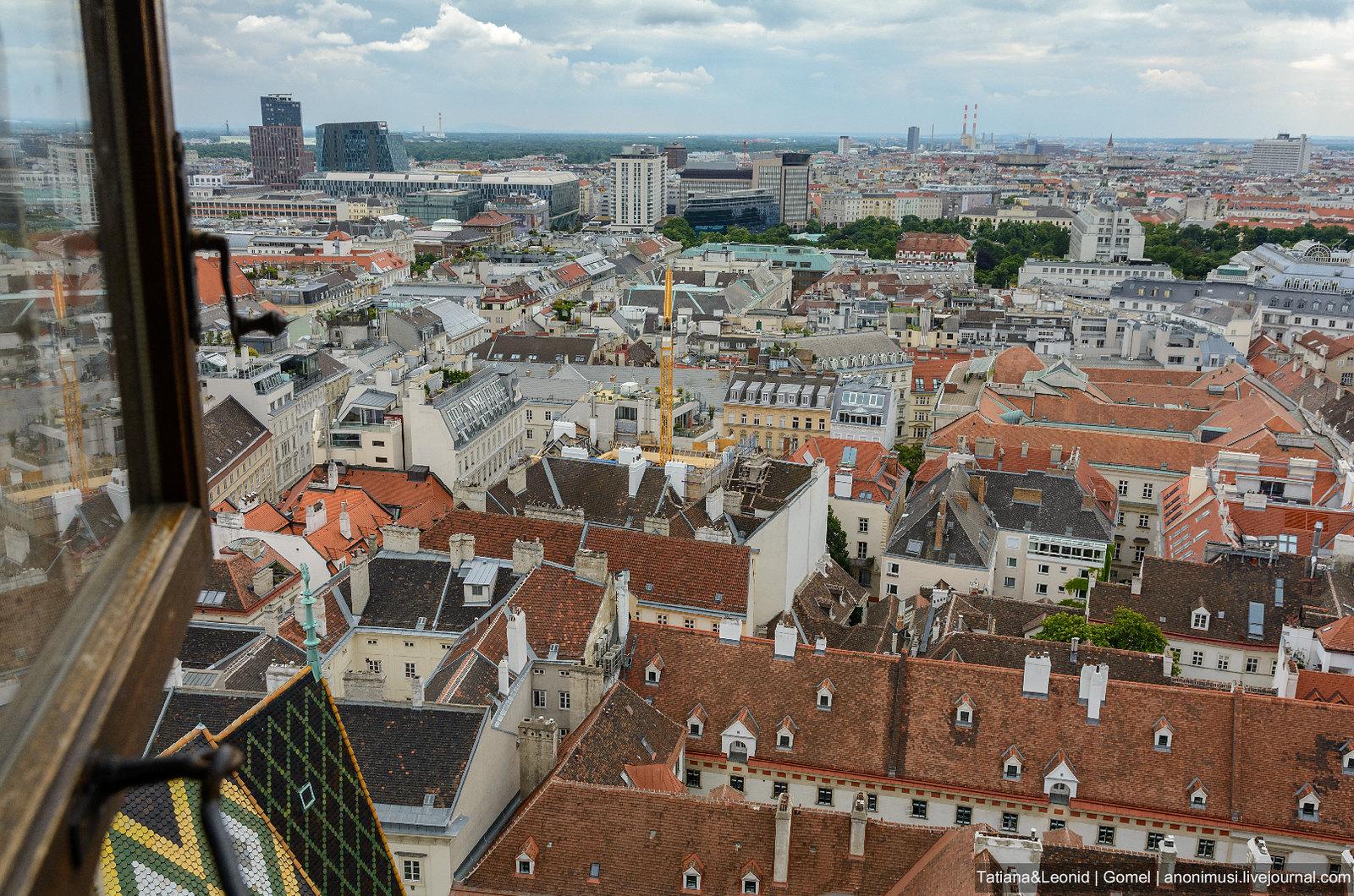Вена с Южной башни собора св. Стефана