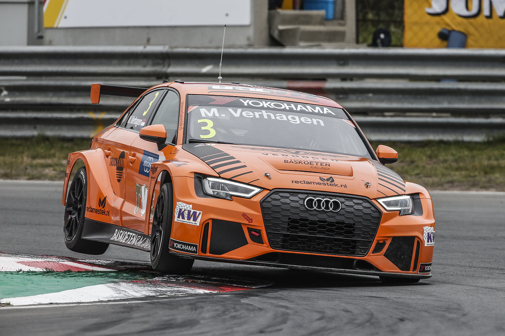 03 VERHAGEN Michael (ned), Audi RS3 LMS, Bas Koeten Racing, action during the 2018 FIA WTCR World Touring Car cup of Zandvoort, Netherlands from May 19 to 21 - Photo Jean Michel Le Meur / DPPI