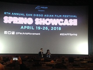 April 19 '18 CISDSU Participates in 8th Annual San Diego Asian Film Festival Spring Showcase