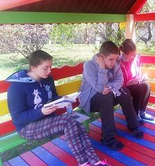 Недільна читанка з Олесею. 22.04.18. ім. О. Грибоєдова