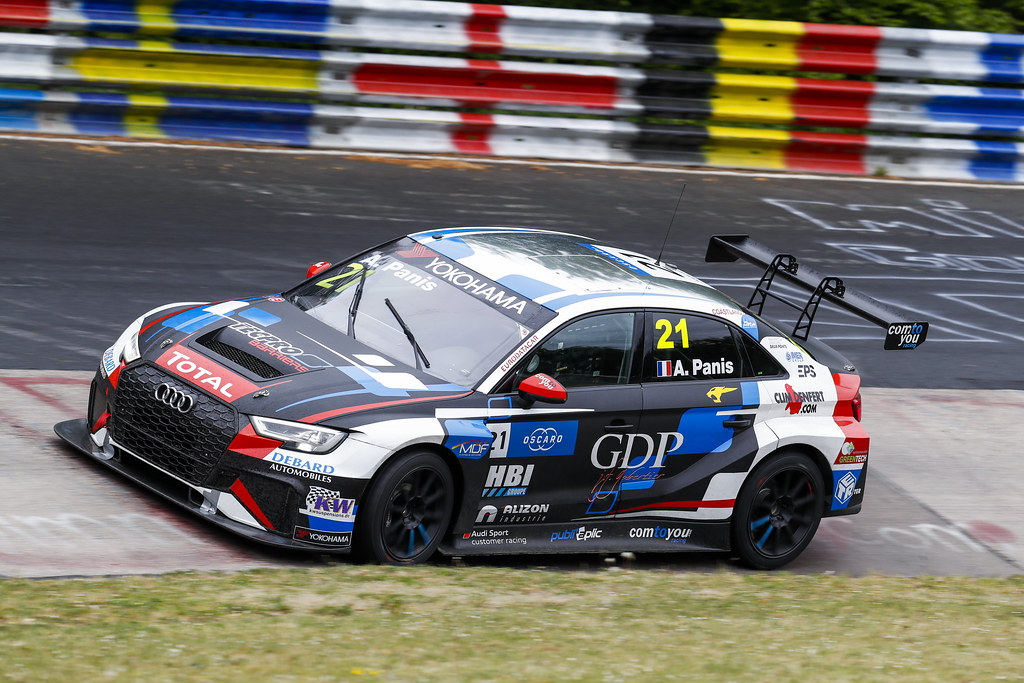 21 PANIS Aurelien (FRA), Comtoyou Racing, Audi RS3 LMS, action during the 2018 FIA WTCR World Touring Car cup of Nurburgring, Germany from May 10 to 12 - Photo Clement Marin / DPPI