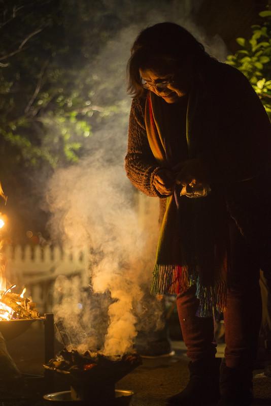 Mesa Ceremony honoring La Pachamama