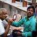 A Varanasi Barber & His Customer