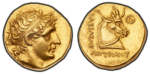 Antiochos gold Stater