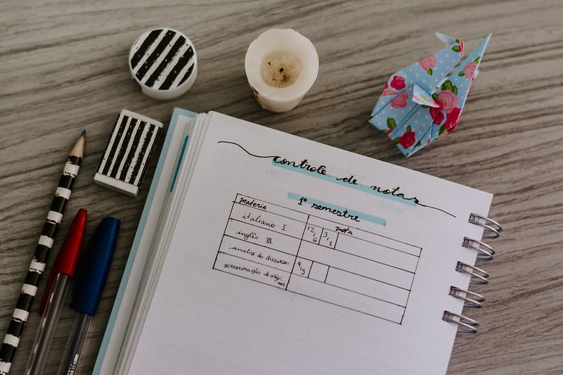 Planner realize - páginas pontilhadas