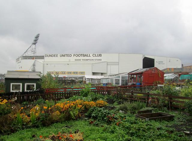 Eddie Thompson Stand, Tannadice Park, Dundee