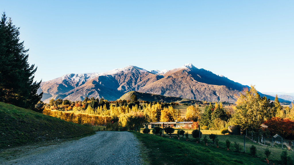 The Remarkables, morning light