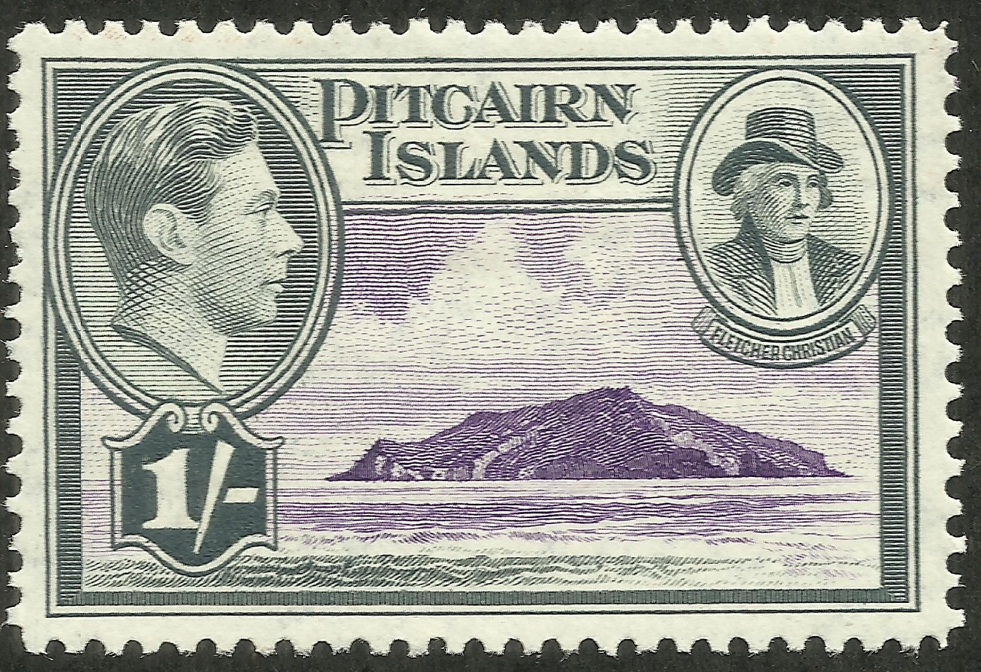 Pitcairn Islands - Scott #7 (1940)