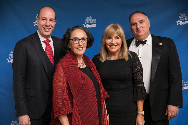 Ambassador Marcelle M. Wahba Receives the 2018 Najeeb Halaby Award for Public Service