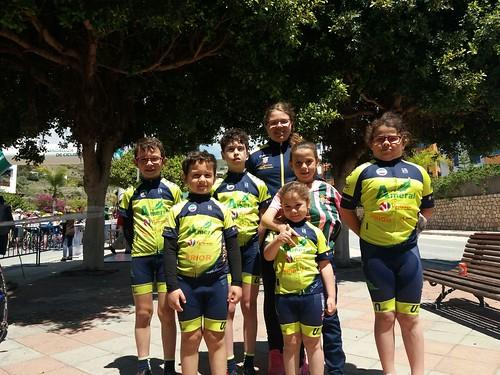 Escuela Ciclista Dos Hermanas Team Ameral en Almuñécar