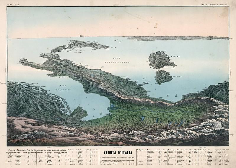 Veduta d'Italia (1853)