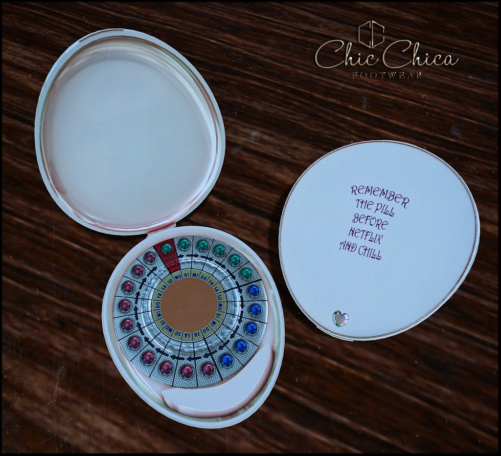 Birth control pills by ChicChica @ Kinky soon - TeleportHub.com Live!