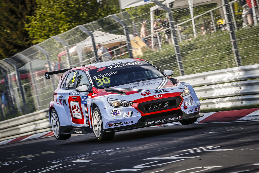 30 TARQUINI Gabriele (ITA), BRC Racing Team, Hyundai i30 N TCR, action during the 2018 FIA WTCR World Touring Car cup of Nurburgring, Nordschleife, Germany from May 10 to 12 - Photo Francois Flamand / DPPI