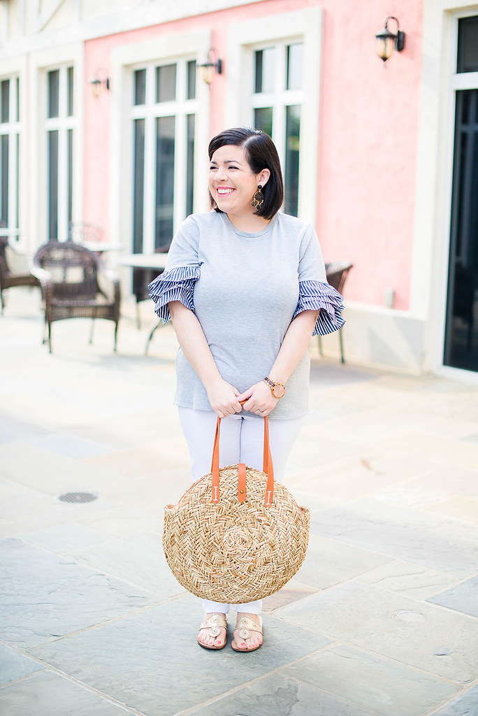 Ruffle Sleeves Summer-@headtotoechic-Head to Toe Chic