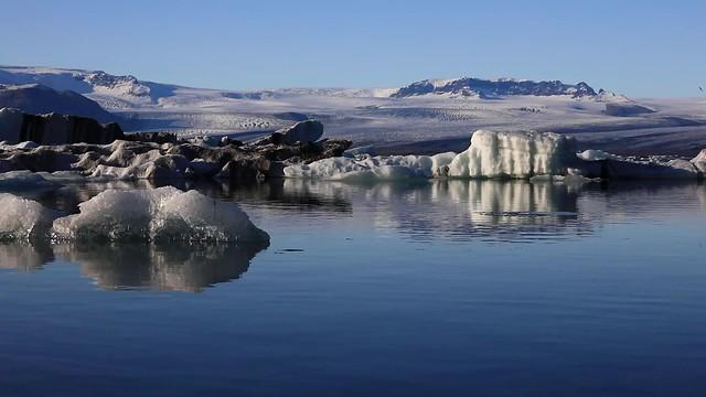 Jokulsarlon Icebergs and seal video