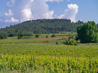Landschaft bei Roussillon