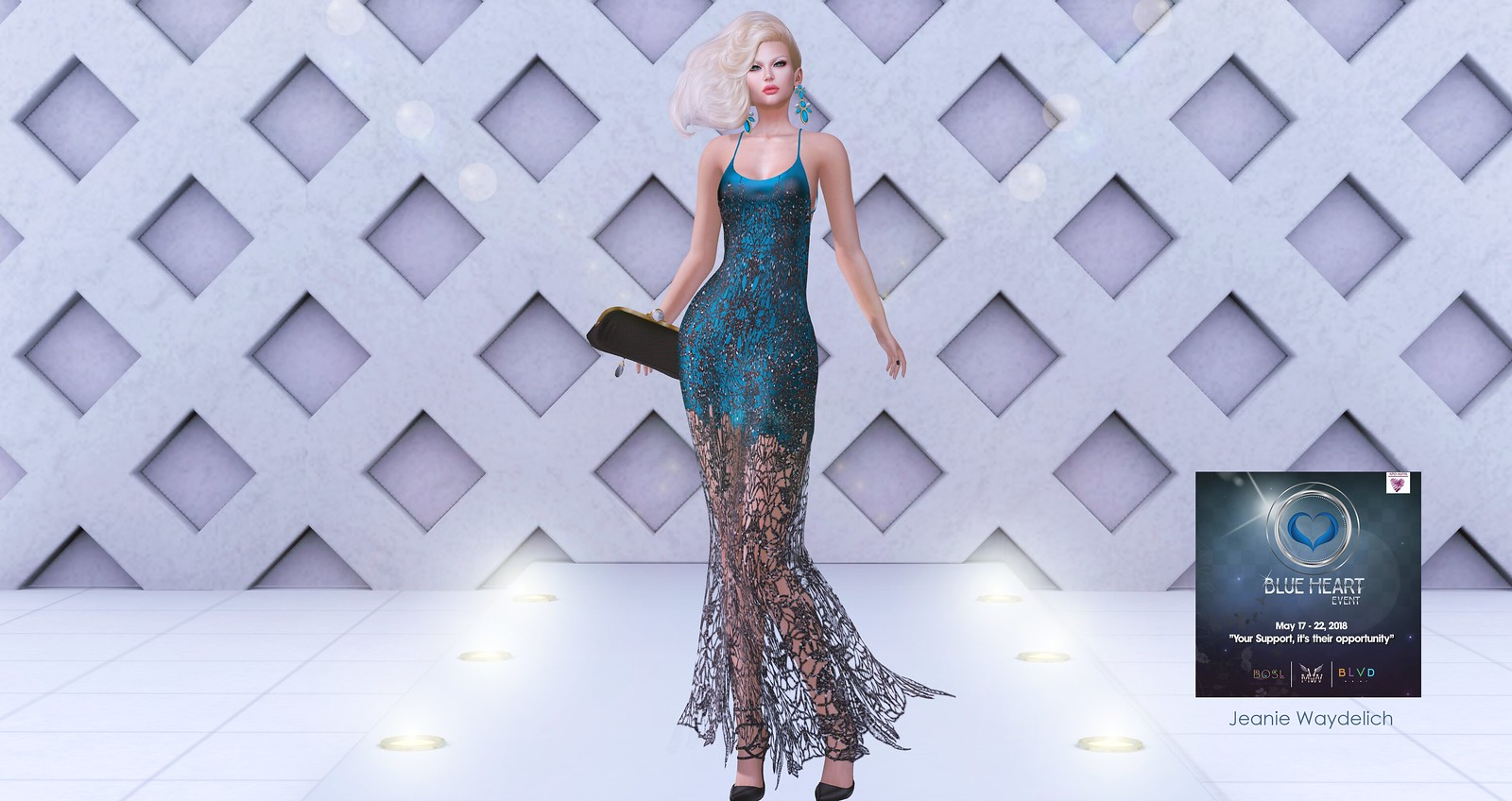 LOTD 965 - Blue, Black and Blond