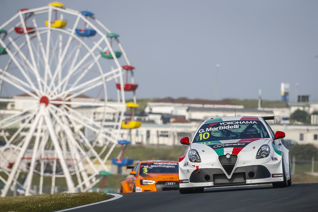 10 MORBIDELLI Gianni, (ita), Alfa Romeo Giulietta TCR team Mulsanne, action during the 2018 FIA WTCR World Touring Car cup of Zandvoort, Netherlands from May 19 to 21 - Photo Francois Flamand / DPPI