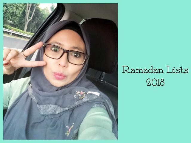 Ramadanlist 2018