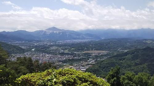 ITS長瀞ハイキング 宝登山山頂からの景色