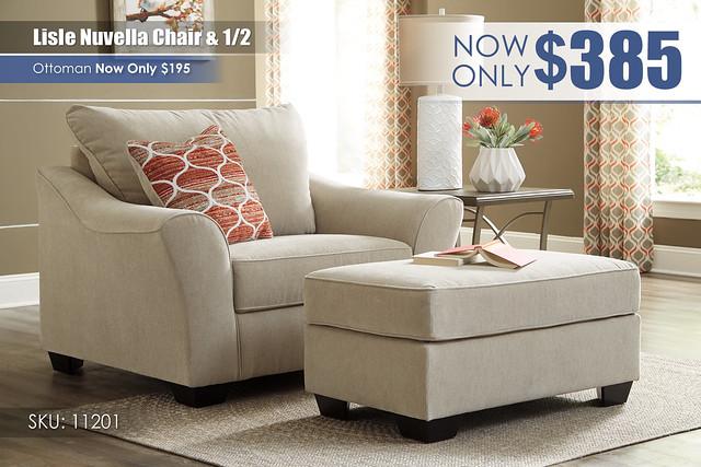 Lisle Nuvella Chair & half_11201-23-14