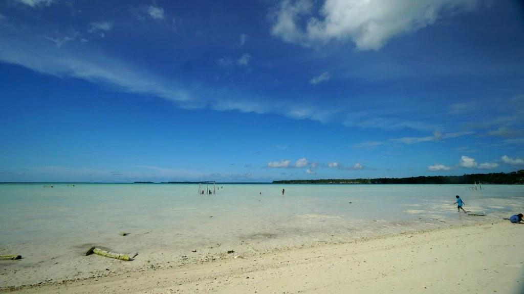 Timelapse of Ohoidertawun Beach, Kei Kecil, Maluku