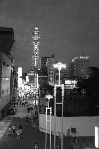 Tsutenkaku in evening on 20-05-2018 (1)