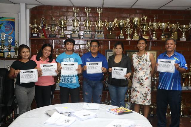 El Salvador - ITTF Basic Umpires Course