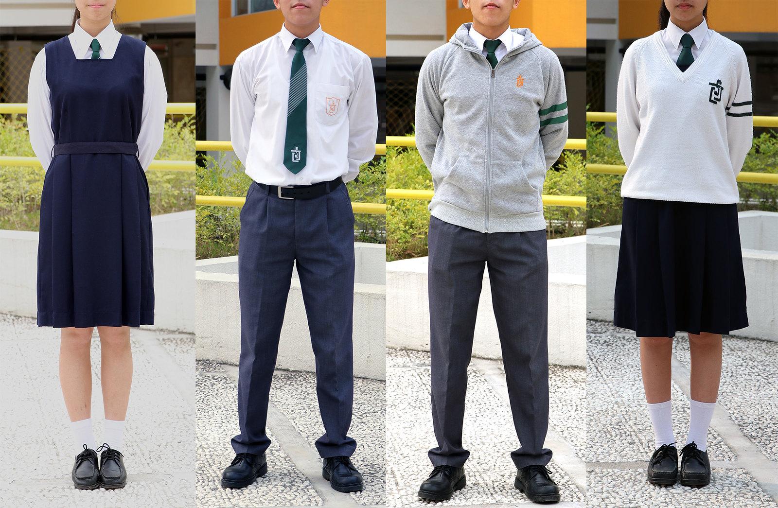 冬季校服樣式