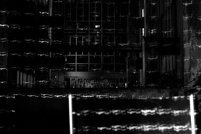 Laser Study 3, Office Building, Paris, April 18