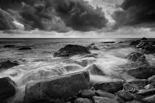 Stormy Rocky Beach