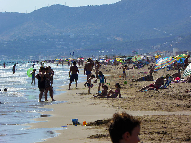 The Costa Brava and Coats Dorada on either side of Barcelona are extremely popular amongst tourists visiting Catalonia, Spain.