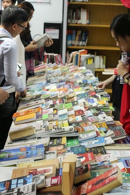 RMIT Library - Book Swap day 2018 - SGS & HN