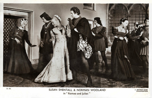 Susan Shentall and Norman Wooland in Romeo and Juliet (1954)