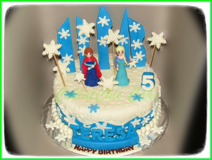 Cake Disney Frozen TERESA 20 cm