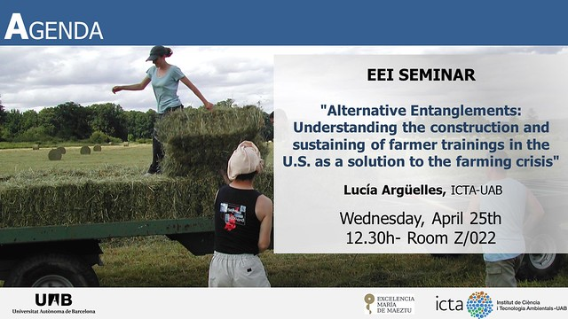 Seminar 25-04-2018 Lucía Argüelles
