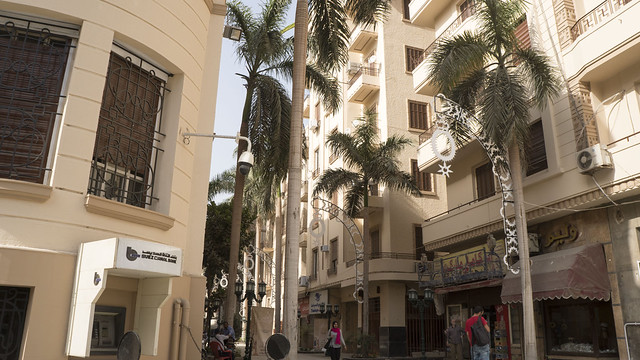 Cairo's Sherifeen Street after renovation