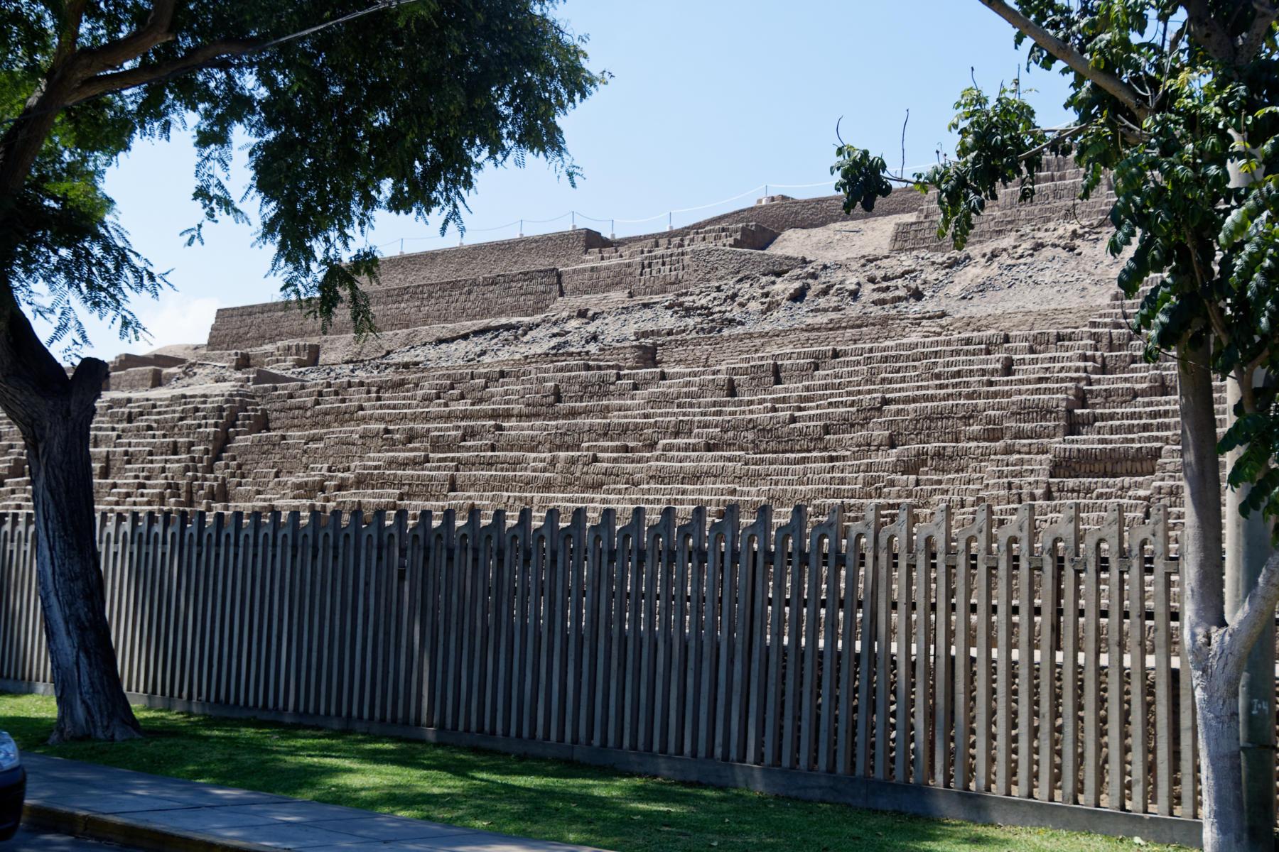 Pre Inca Ruins Huaca Pucllana