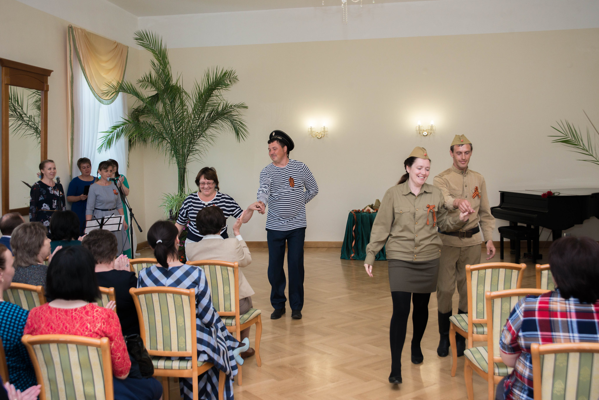 Фестиваль патриотической песни «Виктория», посвященный 73-й годовщине Великой Победы в Великой Отечественной войне 8 мая 2018 года в музее «Тарханы»