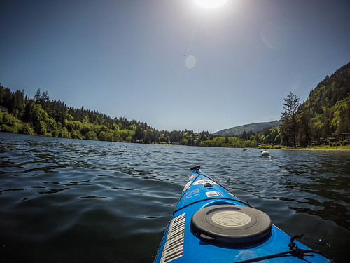 Lake Whatcom Paddling-36