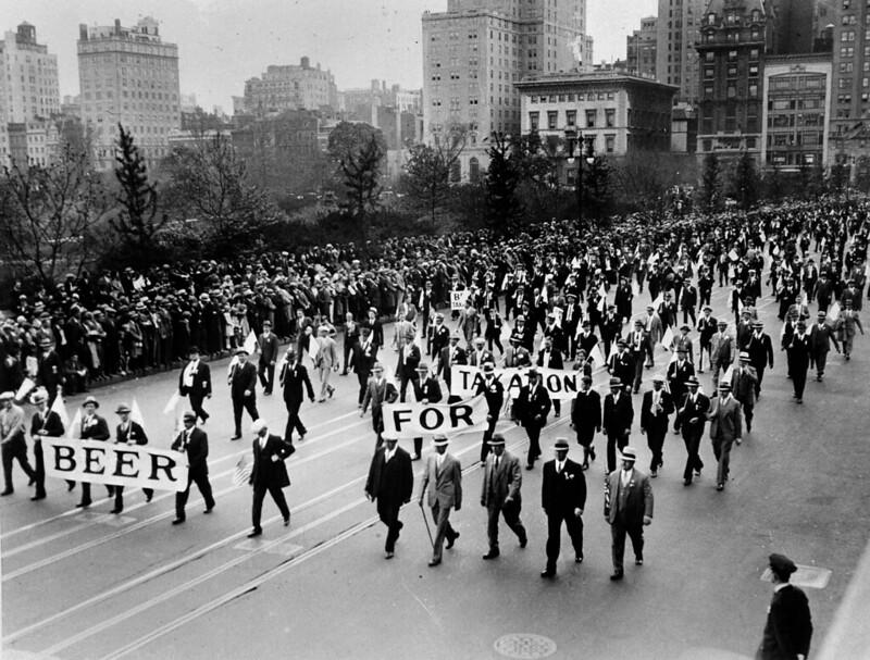 Anti Prohibition Rally 1933
