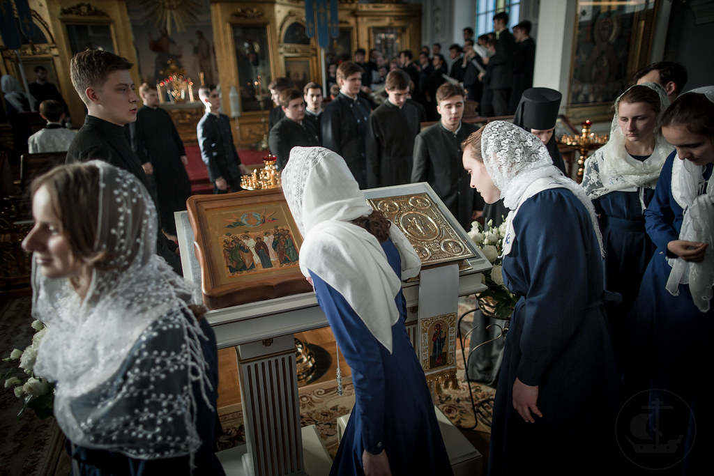 19-20 Неделя 7-я по Пасхе, святых отцев I Вселенского Собора / 19-20  7th Sunday of Pascha. Sunday of the Holy Fathers of the First Ecumenical Council