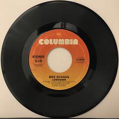 BOZ SCAGGS:LOWDOWN(RECORD SIDE-A)