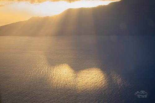 Silueta Sur de La Palma