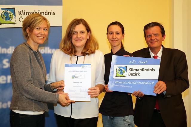 Beitritt Klimabündnis-Bezirk Margareten