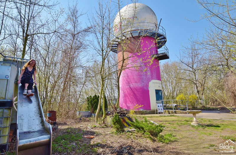 Exploring Abandoned places Teufelsberg (Devil's Mountain)